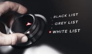 Listes Noire Blanche Frogi Secure